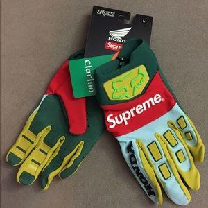 Supreme Fox Honda Racing Gloves